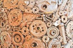 Παλαιό μέταλλο Στοκ Εικόνες