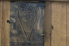 Παλαιό ματάκι πόρτας Στοκ Φωτογραφία
