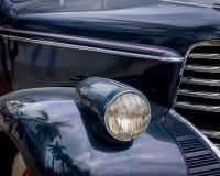 Παλαιό μαύρο αυτοκίνητο Στοκ φωτογραφίες με δικαίωμα ελεύθερης χρήσης