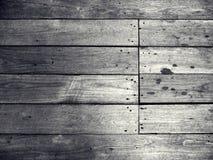 Παλαιό μαύρο ξύλινο υπόβαθρο Στοκ Φωτογραφίες