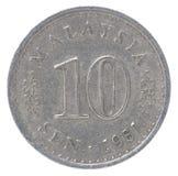 Παλαιό μαλαισιανό νόμισμα Sen Στοκ Εικόνα
