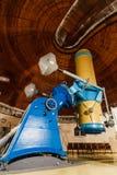Παλαιό μεγάλο οπτικό τηλεσκόπιο τροπαίων Στοκ φωτογραφίες με δικαίωμα ελεύθερης χρήσης