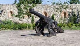 Παλαιό μεγάλο πυροβόλο όπλο Στοκ φωτογραφίες με δικαίωμα ελεύθερης χρήσης