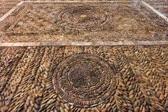Παλαιό μεσαιωνικό τετράγωνο κυβόλινθων Στοκ φωτογραφία με δικαίωμα ελεύθερης χρήσης