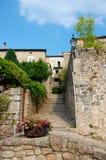 Παλαιό μεσαιωνικό χωριό σε Ardeche, Γαλλία Στοκ φωτογραφίες με δικαίωμα ελεύθερης χρήσης