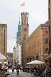 Παλαιό μετα κτήριο στο Αμβούργο Στοκ φωτογραφία με δικαίωμα ελεύθερης χρήσης