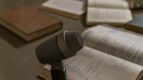 παλαιό μικρόφωνο Στοκ Φωτογραφίες