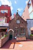 Παλαιό μικρό κτήριο στο κέντρο πόλεων του Αϊντχόβεν, Κάτω Χώρες Στοκ φωτογραφία με δικαίωμα ελεύθερης χρήσης