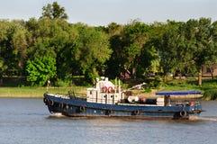 Παλαιό μικρό σκάφος Στοκ Φωτογραφία