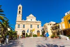 Παλαιό μοναστήρι Arkadi στην Ελλάδα, Chania, Κρήτη Στοκ εικόνα με δικαίωμα ελεύθερης χρήσης