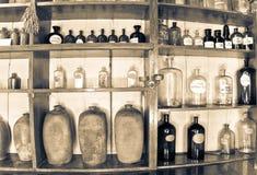 Παλαιό μουσείο φαρμακείων στοκ φωτογραφία