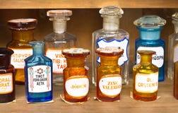 Παλαιό μουσείο φαρμακείων στοκ εικόνα με δικαίωμα ελεύθερης χρήσης
