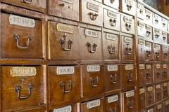 Παλαιό μουσείο φαρμακείων στοκ εικόνες