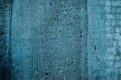Παλαιό μπλε σκυρόδεμα Στοκ Εικόνες