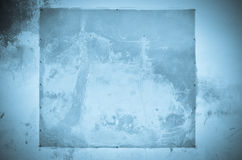 Παλαιό μπλε υπόβαθρο τοίχων Στοκ φωτογραφία με δικαίωμα ελεύθερης χρήσης