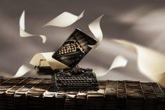 Παλαιό νέο γράψιμο ε στοκ φωτογραφία με δικαίωμα ελεύθερης χρήσης