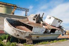 παλαιό ναυάγιο Στοκ φωτογραφία με δικαίωμα ελεύθερης χρήσης