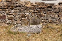 Παλαιό νεκροταφείο Ιταλών σε Buje, Κροατία στοκ εικόνες με δικαίωμα ελεύθερης χρήσης