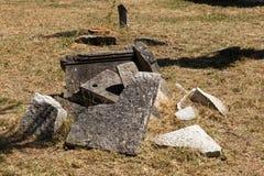 Παλαιό νεκροταφείο Ιταλών σε Buje, Κροατία στοκ φωτογραφία με δικαίωμα ελεύθερης χρήσης