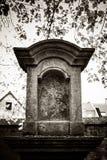 Παλαιό νεκροταφείο, Zinnik, Βέλγιο Στοκ φωτογραφία με δικαίωμα ελεύθερης χρήσης
