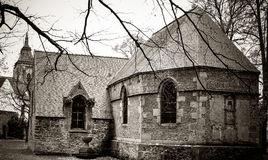 Παλαιό νεκροταφείο, Zinnik, Βέλγιο Στοκ εικόνες με δικαίωμα ελεύθερης χρήσης