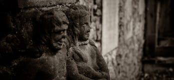 Παλαιό νεκροταφείο, Zinnik, Βέλγιο Στοκ εικόνα με δικαίωμα ελεύθερης χρήσης