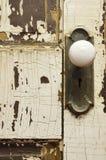 Παλαιό ξεπερασμένο εξόγκωμα πορτών Στοκ φωτογραφία με δικαίωμα ελεύθερης χρήσης
