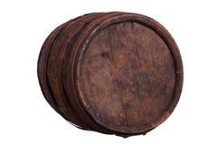 Παλαιό ξύλινο βαρέλι Στοκ Εικόνα