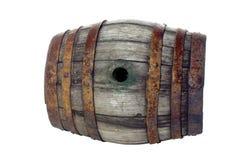 Παλαιό ξύλινο βαρέλι Στοκ Φωτογραφίες
