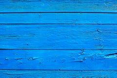Παλαιό ξύλινο μπλε υπόβαθρο Στοκ φωτογραφίες με δικαίωμα ελεύθερης χρήσης