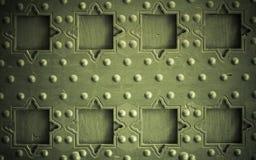 Παλαιό ξύλινο υπόβαθρο με την εκλεκτής ποιότητας λεπτομέρεια πορτών καρφιών μετάλλων Στοκ φωτογραφία με δικαίωμα ελεύθερης χρήσης
