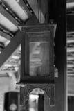 Παλαιό ξύλινο φανάρι στοκ φωτογραφία με δικαίωμα ελεύθερης χρήσης