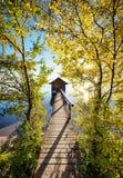 Παλαιό ξύλινο boathouse Στοκ φωτογραφία με δικαίωμα ελεύθερης χρήσης