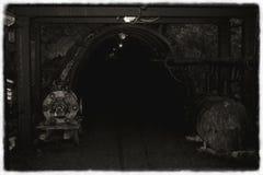 Παλαιό ορυχείο γραπτό Στοκ εικόνα με δικαίωμα ελεύθερης χρήσης