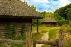 Παλαιό ουκρανικό αγρόκτημα Στοκ φωτογραφίες με δικαίωμα ελεύθερης χρήσης