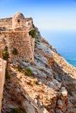 Παλαιό οχυρό στο νησί Gramvousa στοκ φωτογραφίες