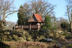 Παλαιό πάρκο ζωολογικών κήπων Στοκ εικόνες με δικαίωμα ελεύθερης χρήσης
