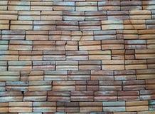 Παλαιό πάτωμα τούβλου σχεδίων Στοκ Εικόνα