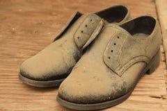 Παλαιό παπούτσι Στοκ Φωτογραφία