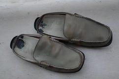 παλαιό παπούτσι Στοκ εικόνα με δικαίωμα ελεύθερης χρήσης