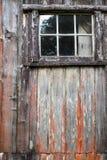 Παλαιό παράθυρο καμπινών Στοκ Εικόνα