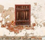 παλαιό παράθυρο ξύλινο Στοκ εικόνα με δικαίωμα ελεύθερης χρήσης