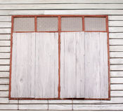 παλαιό παράθυρο ξύλινο Στοκ Φωτογραφίες