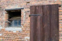 παλαιό παράθυρο πορτών Στοκ φωτογραφία με δικαίωμα ελεύθερης χρήσης