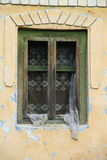 παλαιό παράθυρο σπιτιών Στοκ Εικόνα