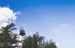Παλαιό παρατηρητήριο πυρκαγιάς Στοκ Φωτογραφίες