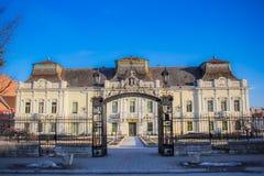 Παλαιό παλάτι, σπίτι πολιτισμού στο εναλλασσόμενο ρεύμα VrÅ ¡, Σερβία στοκ εικόνες
