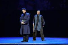 Παλαιό παλτό ηλικία-Jiangxi OperaBlue Στοκ φωτογραφία με δικαίωμα ελεύθερης χρήσης
