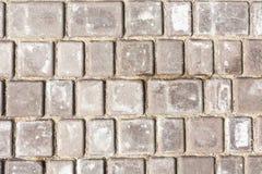 Παλαιό πεζοδρόμιο πετρών Στοκ φωτογραφίες με δικαίωμα ελεύθερης χρήσης