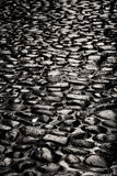 Παλαιό πεζοδρόμιο πετρών Στοκ Φωτογραφίες